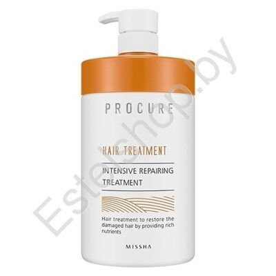 Восстанавливающая маска для волос MISSHA MINSK Procure Intensive Repairing Treatment (Large Volume) 1100 мл