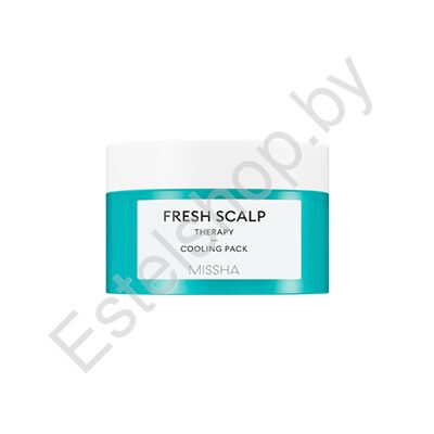 Маска для кожи головы MISSHA MINSK Fresh Scalp Therapy Cooling Pack 200 мл