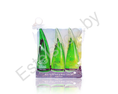 HOLIKA HOLIKA Набор с алоэ Holika Holika Jeju Aloe Face & Body Care Set 55ml*3