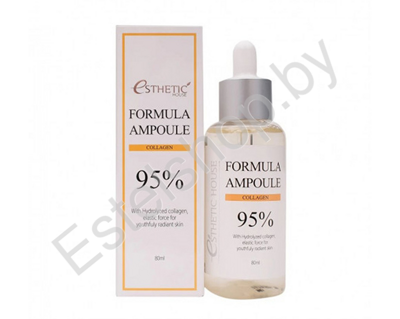 Сыворотка для лица с коллагеном ESTHETIC HOUSE FORMULA AMPOULE COLLAGEN 80 мл