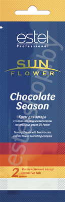 Крем для загара Estel Sun Flower Chocolate Season II уровень