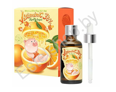 Сыворотка с витамином С 30% ELIZAVECCA WITCH PIGGY HELL-PORE VITAMIN C 30% REAL AMPLE 50 мл