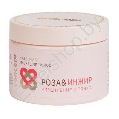 Маска для волос «Роза&Инжир» укрепление и тонус SPA CONCEPT MINSK Power&tonus Hair Mask 15 мл