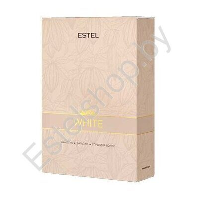 Набор White OTIUM CHOCOLATIER ESTEL  White Chocolate Bar (250мл+200мл+200мл)